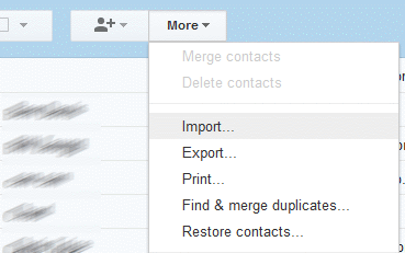 Gmail-Contacts-Import