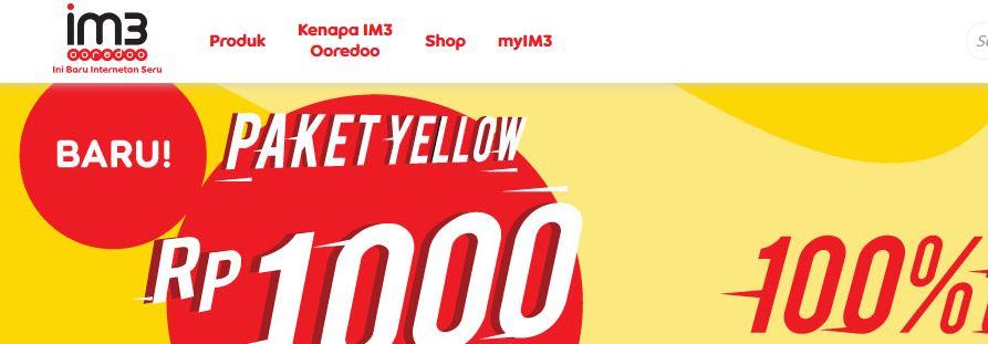 25+ Cara Aktifkan Paket Yellow Im3 Terbaru