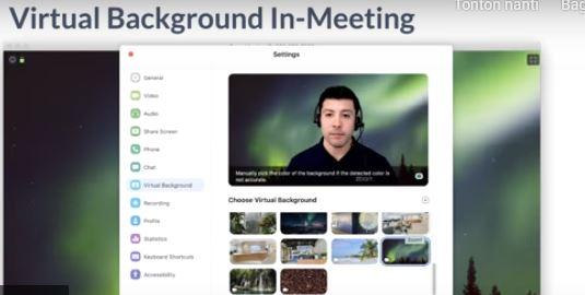 Cara Mengubah Background Di Aplikasi Zoom Bacolah Com