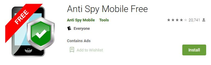 download Anti Spy Mobile Free